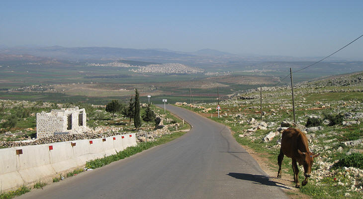 The valley of the Afrin River