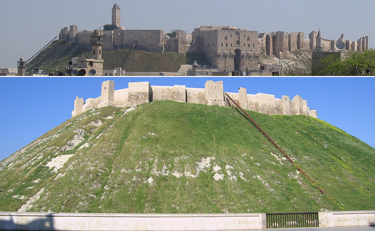 The south-western side of the Citadel
