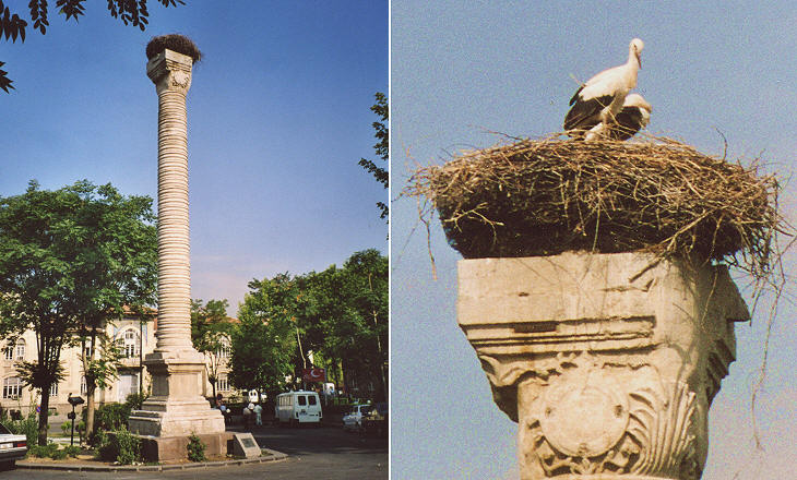 Column dedicated to Emperor Julian