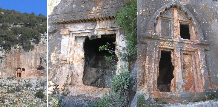 Rock tombs