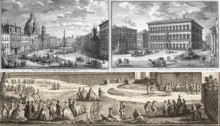 Baroque Rome in the etchings of Giuseppe Vasi