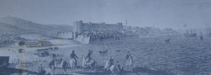 XIXth century view of the fortress