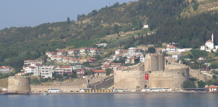 View of the fortress from the Dardanelles