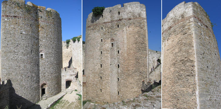 Views of the main tower