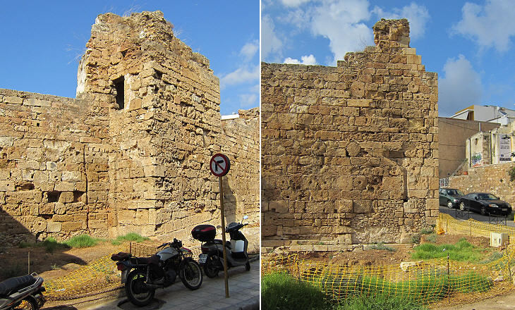Sections of the walls of Castel Vecchio