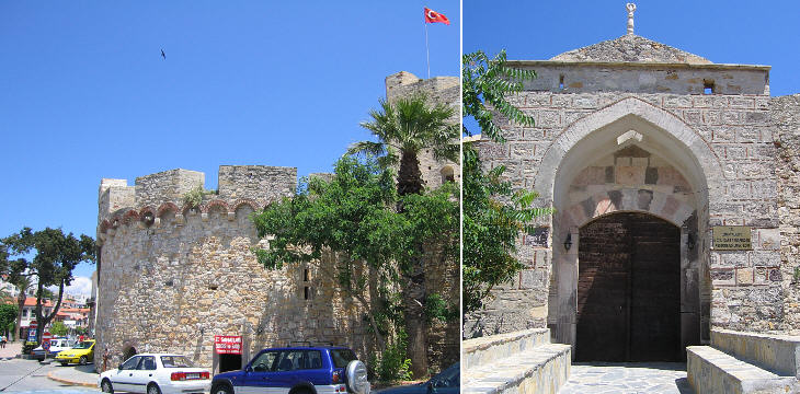 Genoese tower and Ottoman gate