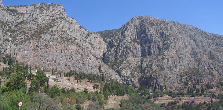 The site of Delphi