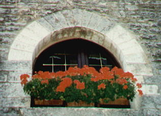 Window in Gubbio