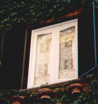 The green window in Trastevere