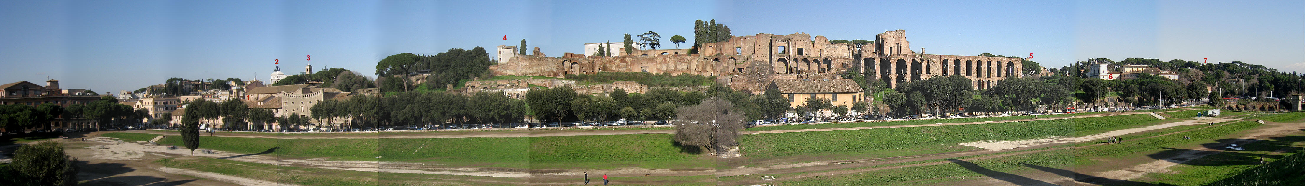 Grand View of the Palatine Hill