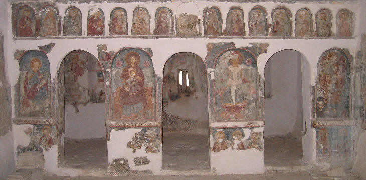 ... and its frescoes