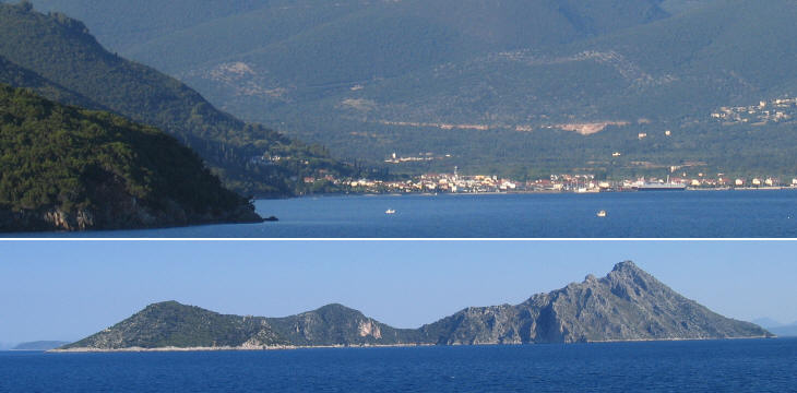 Bay of Samos and Isole Curzolari