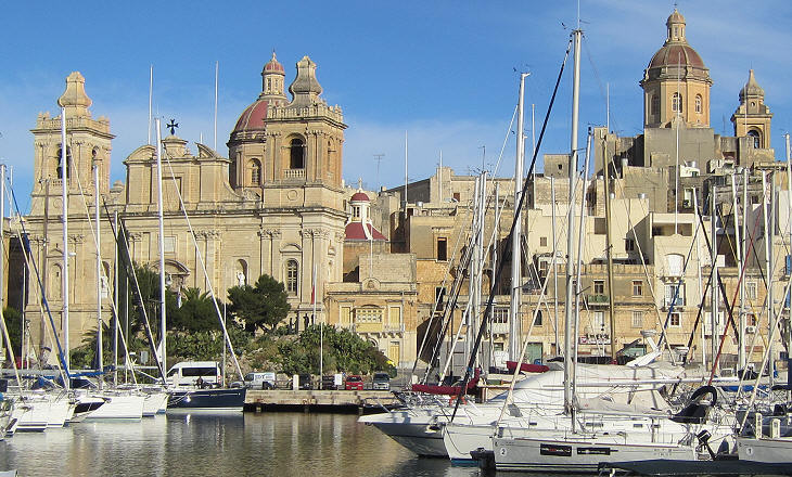 Churches from Senglea