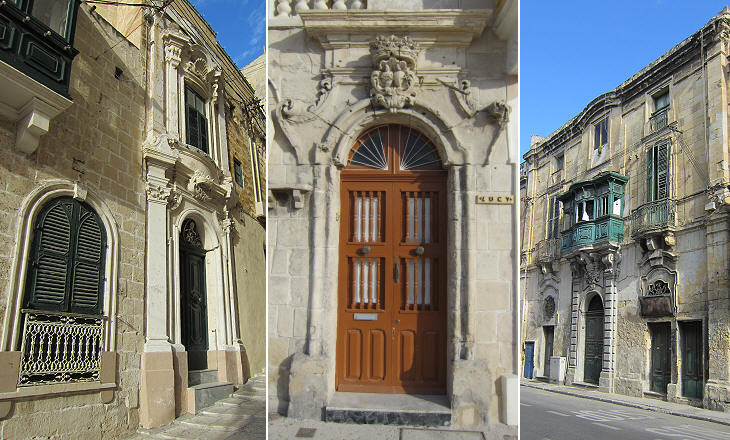 In the streets of Cospicua