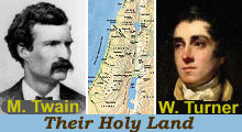 Turner and Twain's Holy Land
