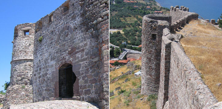 Second Ottoman gate and one of the towers