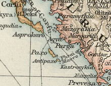 Map of Parga