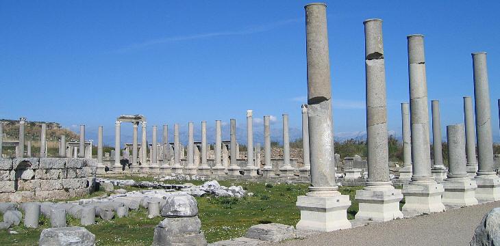 Αποτέλεσμα εικόνας για agora of ancient perge