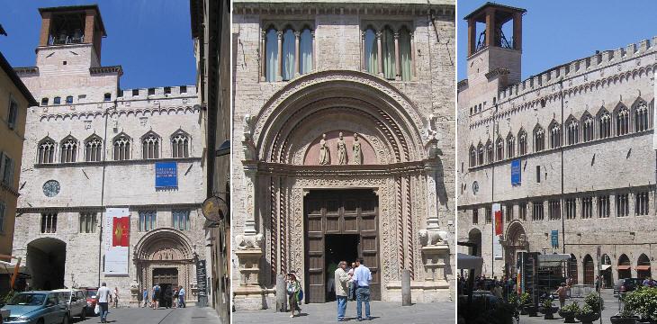 → Palazzo dei Priori Perugi14