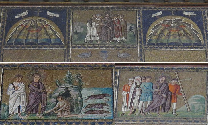 an analysis of the mosaics from sant apollinare nuovo The basilica of sant'apollinare nuovo in ravenna is a unesco-listed site with marvelous wall mosaics from the late antiquity and byzantine periods.
