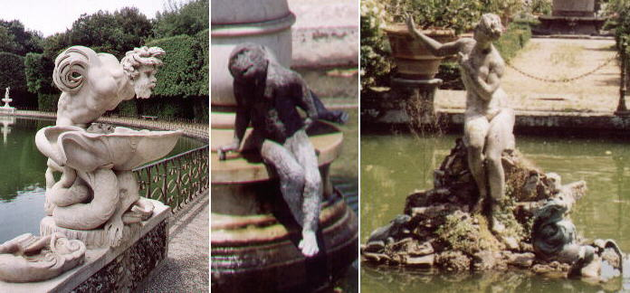 Fountains in Boboli