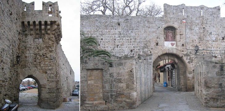 Mills Gate and St Anthony's Gate