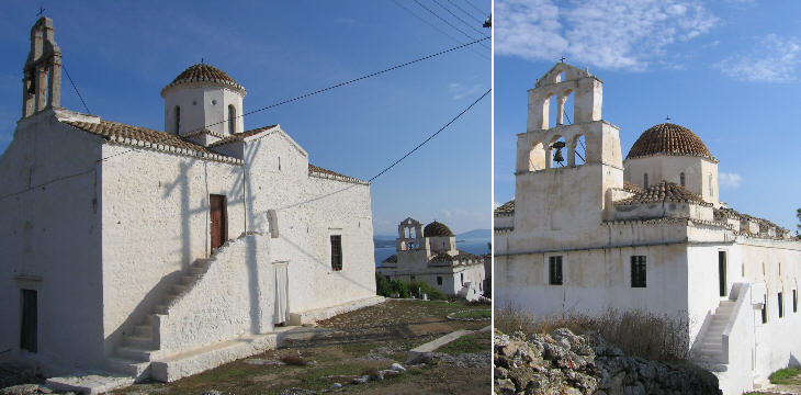 Old churches of Casteli