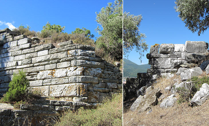 walls of the acropolis