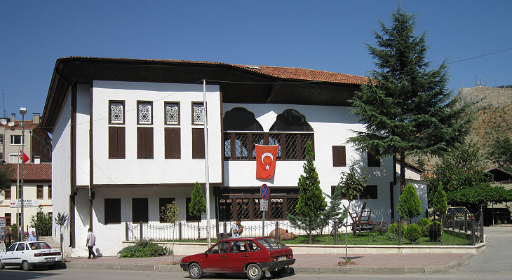 Towns in the valleys of northern Turkey: Tokat