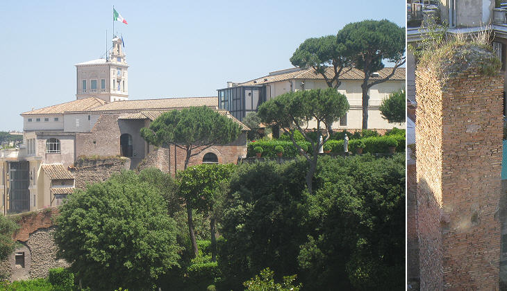 View from the slopes of the Quirinale