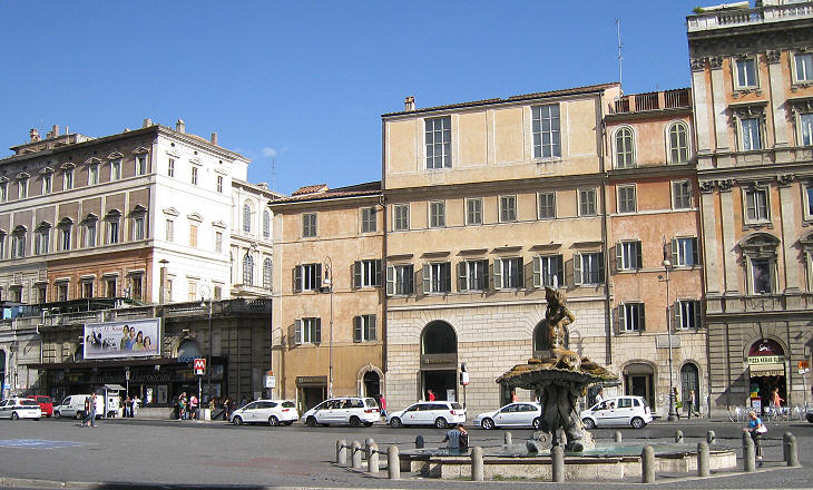 The Piazza today