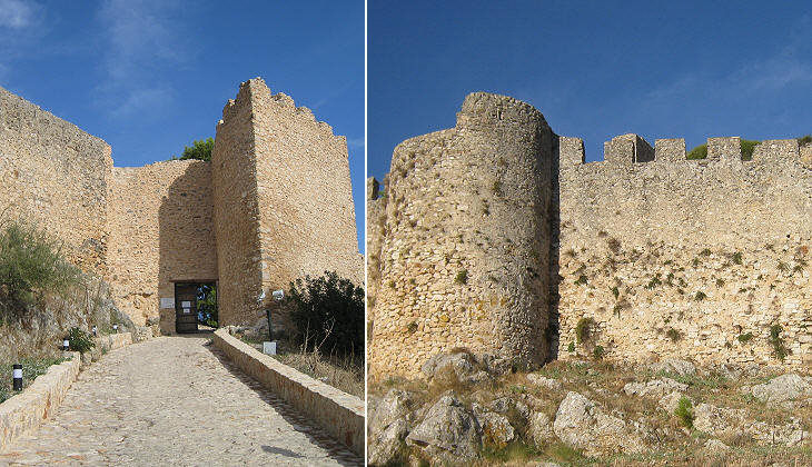 Entrance to the fortress and inner walls